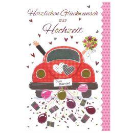 SUSY CARD Hochzeitskarte Sweet sunshine