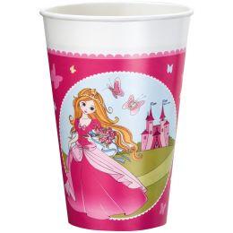 SUSY CARD Kunststoff-Trinkbecher Princess, 0,2 l