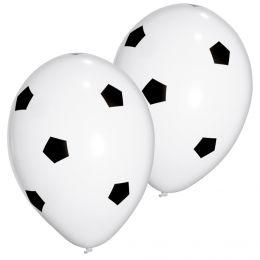 SUSY CARD Luftballons Football, schwarz/weiß