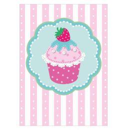 SUSY CARD Minikarte - Allgemein Cupcake