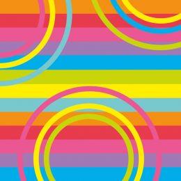SUSY CARD Motivservietten Mix it!, 330 x 330 mm