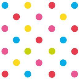 SUSY CARD Motivservietten Mix it! Dots, 330 x 330 mm