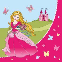 SUSY CARD Motivservietten Princess, 330 x 330 mm