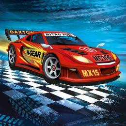 SUSY CARD Motivservietten Super Racer, 330 x 330 mm