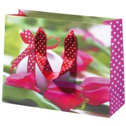 SUSY CARD Oster-Geschenktüte Osterschleife, klein