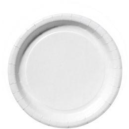 SUSY CARD Papp-Teller, rund, Durchmesser: 290 mm, weiß