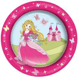 SUSY CARD Pappteller Princess , Durchmesser 230 mm