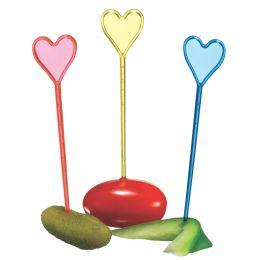 SUSY CARD Partypicker Herz, aus Kunststoff
