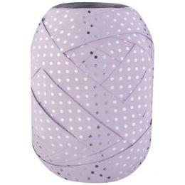SUSY CARD Ringelband-Eiknäuel Glossy Dots, flieder