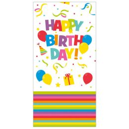 SUSY CARD Tischdecke Happy Birthday, 1,20 x 1,80 mm