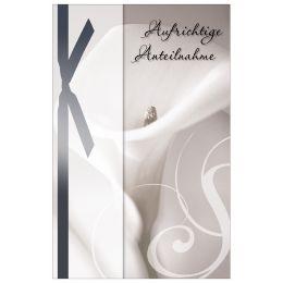 SUSY CARD Trauerkarte Calla