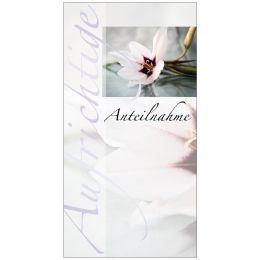 SUSY CARD Trauerkarte Lilie