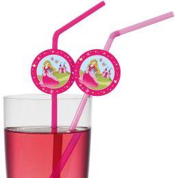 SUSY CARD Trinkhalm Princess, flexibel, aus Kunststoff