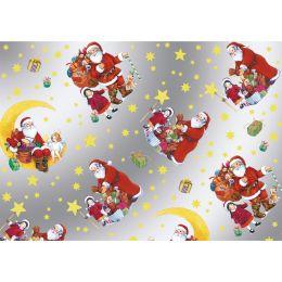 SUSY CARD Weihnachts-Geschenkfolie Hohoho, auf Rolle