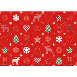 SUSY CARD Weihnachts-Geschenkpapier Hüttenzauber, Rolle