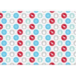 SUSY CARD Weihnachts-Geschenkpapier Pastell, Rolle