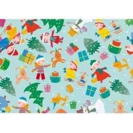 SUSY CARD Weihnachts-Geschenkpapier Weihnachtsspass, Rolle