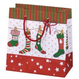 SUSY CARD Weihnachts-Geschenktüte X-mas stocking, klein