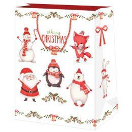SUSY CARD Weihnachts-Geschenktüte Xmas Party, mittel
