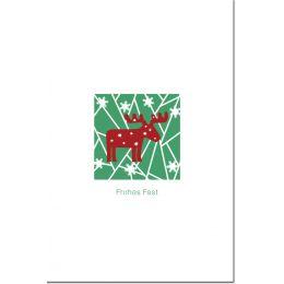 SUSY CARD Weihnachtskarte Lasercut Elch
