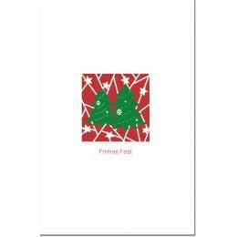 SUSY CARD Weihnachtskarte Lasercut Tannen