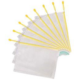 tarifold Reißverschlusstasche ZIPPER, DIN A4, PVC, gelb