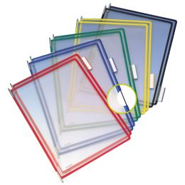 tarifold tdisplay Tischständer, DIN A4, lichtgrau, für 60