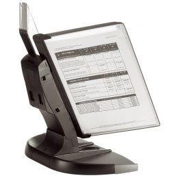 tarifold Tischsichttafelsystem BLACK LINE, DIN A4, schwarz