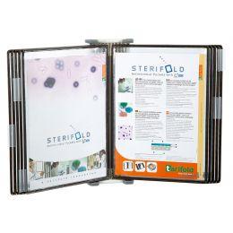 tarifold ttechnic STERIFOLD Wandelement, A4, lichtgrau