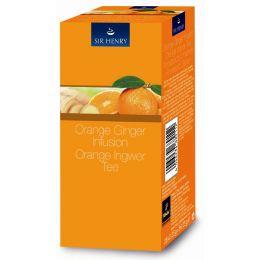 Tchibo Tee Sir Henry Orange Ingwer