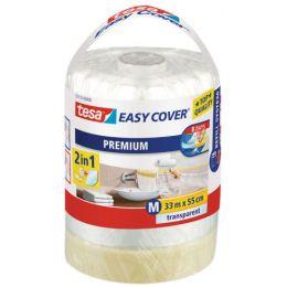 tesa Abdeckfolie Easy Cover Premium, 550 mm x 33 m