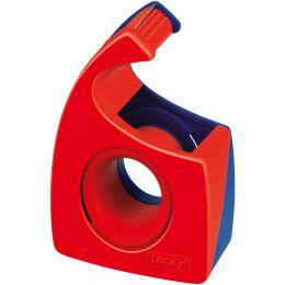 tesa Easy Cut Handabroller, transparent, unbestückt, Display