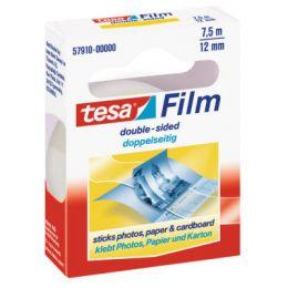 tesa Film, doppelseitig, transparent, 12 mm x 7,5 m