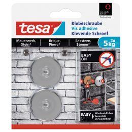 tesa Klebeschraube für Mauerwerk, rund, 5,0 kg