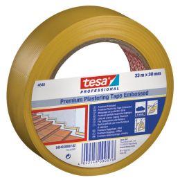 tesa Putzband 4840 Premium, quergerillt, 50 mm x 33 m, weiß