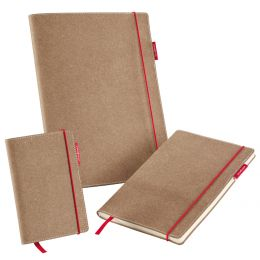transotype Notizbuch senseBook RED RUBBER, Small, blanko