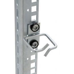 TRITON 19 Kabelbügel D2, 80 x 80, lichtgrau (RAL 7035)