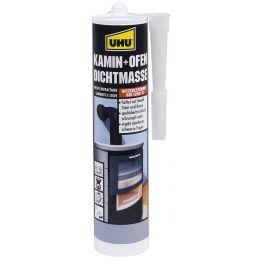 UHU Kamin- & Ofen-Dichtmasse, schwarz, 530 g Kartusche