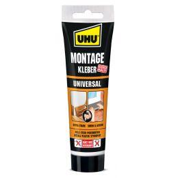 UHU Montagekleber Universal, lösemittelfrei, 200 g Tube