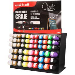 uni-ball Kreidemarker Chalk, 63er Display