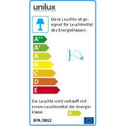 UNiLUX Energiespar-Lupenleuchte ZOOM, weiß, 22 Watt