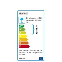 UNiLUX LED-Tischleuchte SOL, Farbe: schwarz
