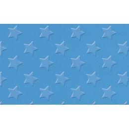 URSUS Alu-Bastelfolie Sternchen, dunkelblau