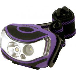 VARTA LED-Kopflampe Outdoor Sports, 2 x 1 Watt LEDs