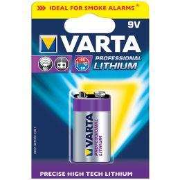 VARTA Lithium Batterie Professional Lithium, E-Block (9V)