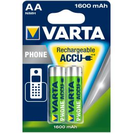 VARTA Telefon-Akku Rechargeable Phone Accu, Mignon (AA)