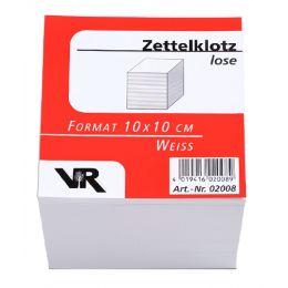 VIKTOR RICHTER Zettelboxeinlagen, 90 x 90 mm, holzfrei