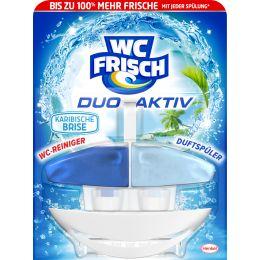 WC Frisch DUO AKTIV WC-Reiniger/-Duftspüler Karibische Brise