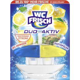 WC Frisch DUO AKTIV WC-Reiniger/-Duftspüler Lemon