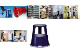 WEDO Ersatzrollen für Rollhocker, aus Kunststoff